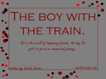 The boy with the train