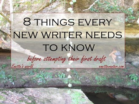 8 tips for new writers
