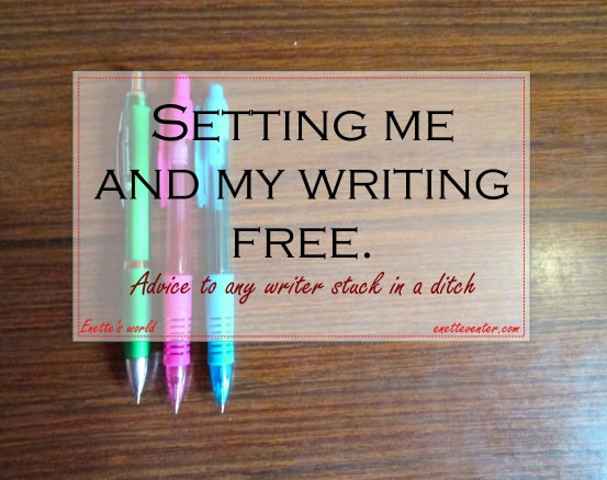 Setting writing free