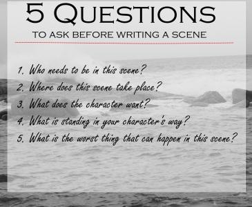 5 scene questions