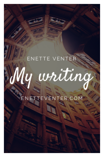 Writing by Enette Venter